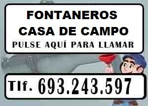 Fontaneros Casa de Campo Madrid Urgentes