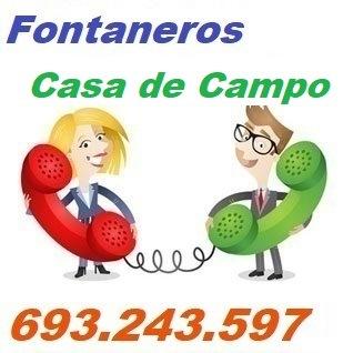 Telefono de la empresa fontaneros Casa de Campo